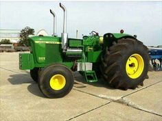 JD 5020 with Repower. Old John Deere Tractors, Jd Tractors, Antique Tractors, Vintage Tractors, Vintage Farm, Vintage Trucks, John Deere 6030, John Deere Equipment, Heavy Equipment