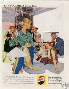 Vintage Drinks Advertisements of the 1950s (Page 20)