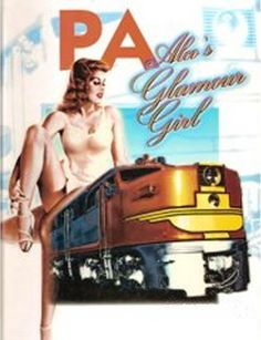Naked girls on locomotives