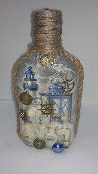 морской стиль на бутылках - Поиск в Google