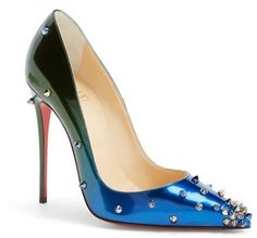 2b76cc29911 Christian Louboutin  Degraspike  Pointy Toe Pump