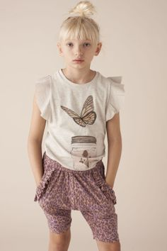 Soft Gallery Lotus Hiddenland T-shirt Toddler Fashionista, Little Fashionista, Tween Girls, Kids Girls, Cute Fashion, Kids Fashion, Kids Outfits, Cute Outfits, Kids Prints