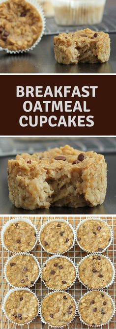 Ideas Breakfast Oatmeal Cupcakes For 2019 Oatmeal Cupcakes, Breakfast Cupcakes, Oatmeal Cake, Breakfast Ideas, Breakfast Time, Healthy Low Carb Breakfast, Protein Breakfast, Vegan Breakfast, Low Carb Oatmeal