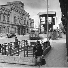 #madrid #tetuan metro Valdeacederas 1961