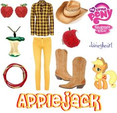 """""""My Little Pony: Friendship is Magic (Applejack)"""" by disneyheart on Polyvore"""