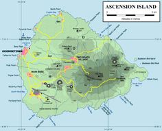 Ascension Island re-calibrated to the new earth resonances on March Saint Helena Island, St Helena, Ascension Island, Kingdom Of Great Britain, Types Of Yoga, New Earth, Atlantic Ocean, West Africa, Africa Travel