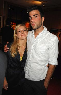 zachary quinto and kristen bell