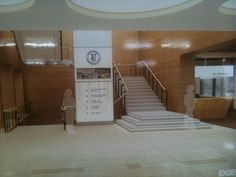 open stairs in lobby - Google Search: