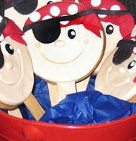 Pirate Cookie Pops