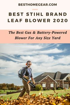 Check Out The Top Stihl Brand Leaf Blower for Any Size Yard - Reviews for 2020 Cool Diy Projects, Garden Projects, Exterior Decoration, Infrared Heater, Lawn Equipment, Patio Heater, Leaf Blower, Fire Pits, Perfect Place