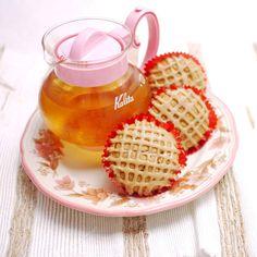 brown sugar muffins with espresso glaze1