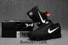 Nike Air VaporMax KPU Black White All Nike Shoes, Nike Shoes Cheap, Running Shoes Nike, Cheap Nike, Nike Shoes Outlet, Sports Shoes, Basketball Shoes, Black Nike Trainers, Nike Air Max Black