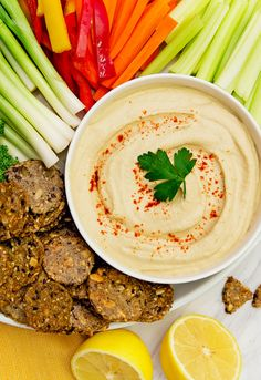 The Best Hummus. Authentic creamy and delicious hummus! Perfect addition to any party spread or just snacking. Vegan oil free and gluten free! Plant Based Whole Foods, Plant Based Diet, Plant Based Recipes, Whole Food Recipes, Vegan Recipes, Cooking Recipes, Flour Recipes, Vegan Foods, Vegan Dishes