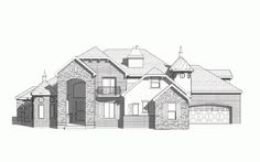 Sherbrooke - Traditional style house plan - Walker Home Design