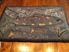 "A pinner said ""Patsy Becker design called Sue's Catch that I have modified. Pattern purchased at Wool and Goods Rollinsford, NH."""