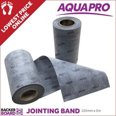 Aqua Pro Jointing Tape is ideal for us on wetroom floor and walls to seal floor and wall joints between sheets of shower liner or floor decoupling. Electric Underfloor Heating, Underfloor Heating Systems, Aqua, Inner Core, Adhesive Tiles, Shower Liner, Carpet Flooring, Insulation, Tape