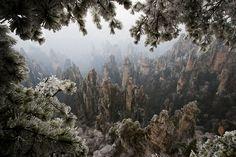 Moto-Mucci: DAILY INSPIRATION: Tianzi Mountain, China
