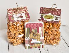 Caramel Corn Gifts - Scrapbook.com