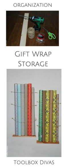 50 ideas for organizing craft roomsDIY Craft Room Ideas and Craft Room Organization Projects - Affordable Craft Room Containers - Cool Do It Yourself Storage Crafting - Fabric, Paper, Pens, Creative Tools, Craft Supplies and Diy Wrapping Paper Storage, Gift Wrap Storage, Craft Paper Storage, Craft Organization, Diy Storage, Kitchen Storage, Storage Ideas, Organizing Tips, Wrapping Papers