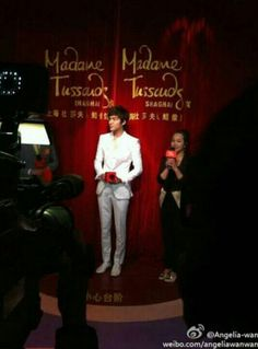 lee min ho at madame tussauds wax museum shanghai china 04.19.2013