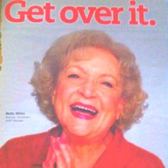 Who doesn't love Betty White