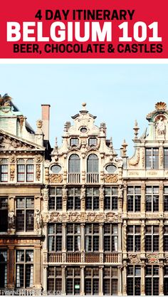 The beginner's guide to Belgium's best places! Includes travel tips for visiting Belgium and things to do in Antwerp, Ghent, and Bruges.