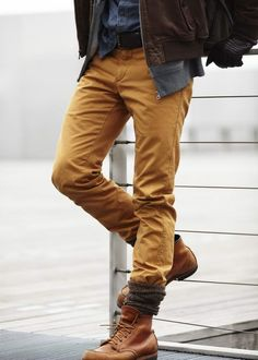 Mens jeans style.