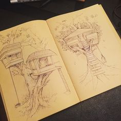 Fun fun ... Always pushing my skills .. #sketchwars  #treehouse #sketchaday#sketch#innovation#classic#love#architecture#passion#art#artist#future#industrialdesign#industrialdesigner#productdesign#hardwork#treehousesensation#fun#illustration#conceptart#engineer by jonosborneidsa