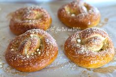 Homade pretzels - sounds great!