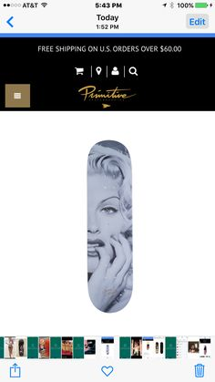 Another Primitive Deck I picked up today, Anna Nicole Smith👍.