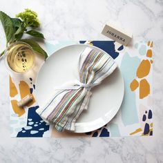 Who knew placemats could be so pretty?