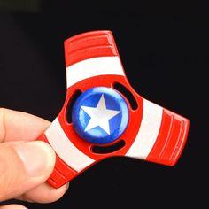 Spinner Superbohater Kapitan Ameryka 2