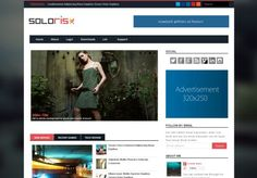 Soloris Responsive Blogger Template Download #responsive #blogger #bloggertemplates