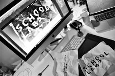Concept Project: School labs by Joost Huver, via Behance