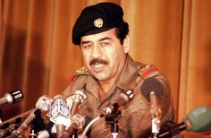 This is a Nov. 1980 photo of Iraqi President Saddam Hussein. Iraqi President, Beard Logo, Saddam Hussein, Million Men, Change Of Heart, Today In History, Baghdad, World Leaders, World History