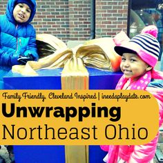Unwrapping Northeast Ohio - 10 Family Friendly, Cleveland Inspired (Non-Toy) Gift Ideas that are on Santa's list