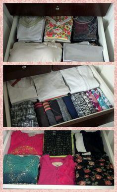 Organização de closet !