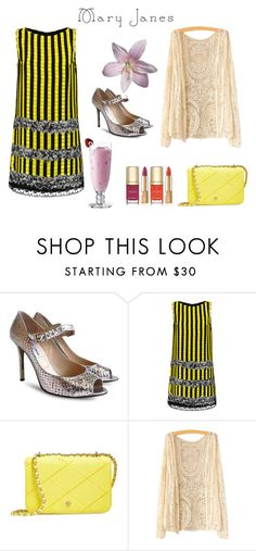 """""""№34"""" by origganna ❤ liked on Polyvore featuring Jimmy Choo, Anna Sui, Tory Burch and Dolce&Gabbana"""