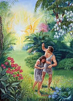Adam and Eve must leave the garden of Eden. From the moment of their… Cain Y Abel, Adam Et Eve, Flaming Sword, Bible Timeline, La Sainte Bible, Bible Illustrations, Bible Pictures, Garden Route, Body Armor