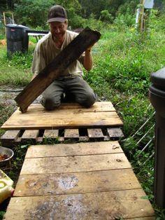 PALLET PROJECTS   Pallet porch project=low budget comfort