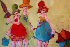 Three Sisters ~ by Angela Morgan
