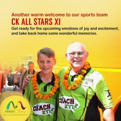 We would like to welcome our another fantastic looking group CK All Stars XI as they also begin their 10 day Cricket recreational tour through some exciting places and facing some tough teams around. Great to see Neil Carter back, this time with a different set of guys. We are sure they are looking forward to this Incredible experience with Melsh Tours. Thank you Coach Kyle. #melshtours, #melshsportstours, #sportstoursindia, #crickettoursindia, #ckallstars, #coachkyletours…