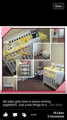 Adorable baby room decor!