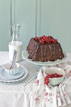 bundt cake de chocolate y castañas 1