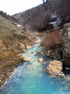 Hiking guide to Utah's Diamond Fork Hot Springs