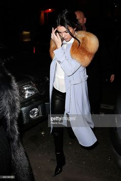 Kendall Jenner is seen on January 25, 2015 in Paris, France.