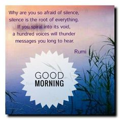 Image result for good morning rumi pic