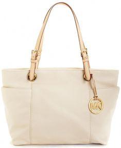3b17ed4d657b53 MICHAEL Michael Kors Handbag, Item Leather Tote - Tote Bags - Handbags  & Accessories