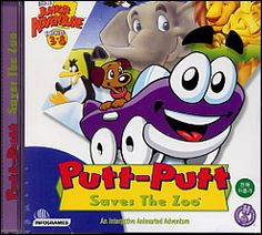 I will always love Putt Putt.<3