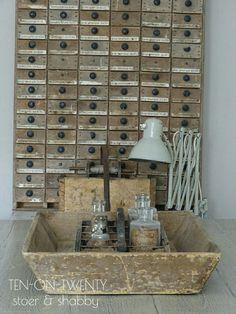 Athome#binnenkijken#drawers#shabbychic#